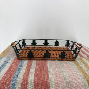 Christmas Basket Tray